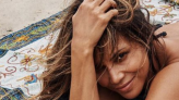 Halle Berry Is Toned Head to Toe Lounging on the Beach In a New Bikini Photo