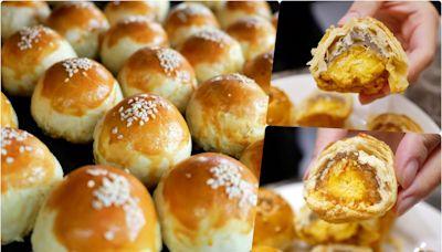 低調賣了30年的老店蛋黃酥~桃園小甜甜麵包蛋糕,巷仔內的網友說從小到大只吃這一家!