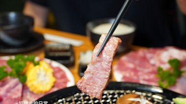 逢甲燒肉|秋今醉 雙人888和牛、無骨牛小排、生食級干貝、天使紅蝦全上桌,還有飲料冰品無限吃到飽