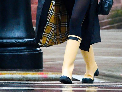 Would you spend thousands of pounds on a pair of wellington boots?