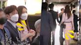 神話Eric帶妻子參加JunJin婚禮,十指緊扣不放開!全程照顧有加真的太甜啦~❤