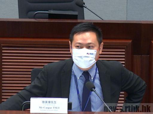 徐英偉稱政府購奧運轉播權因無商業機構有興趣購買 - RTHK
