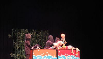 文山國小偶戲團登南海劇場舞台 創意戲劇優勝團隊10月份將線上播映