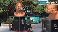 Arrest made after vandal defaced George Floyd statue in NYC
