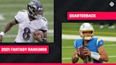 Fantasy Football QB Rankings 2021: Best quarterbacks to draft, sleepers to know