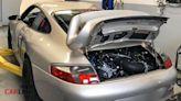 「小青蛙」變「大牛蛙」!Porsche 911 Type 996引擎「V8缸」異種改