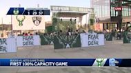 Bucks game first big sporting event to have 100% capacity