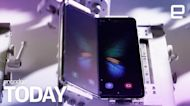 Samsung puts Galaxy Fold to the test | Engadget Today