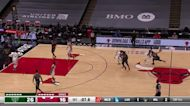 P.J. Tucker with an and one vs the Chicago Bulls