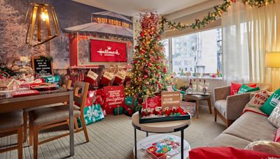 You Can Stay in These Hotel Rooms Inspired by Hallmark Christmas Movies