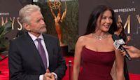 """Catherine Zeta-Jones Is a """"Proud Wife"""" of Nominee Michael Douglas"""