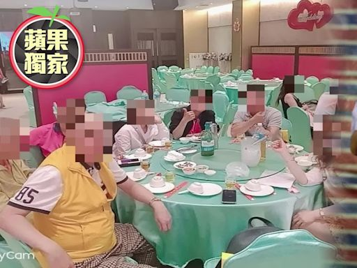 【獨家/疫情大爆炸】驚!「獅子哥」聚餐照曝光 同框2桌加路過共13人都沒戴口罩 | 蘋果新聞網 | 蘋果日報