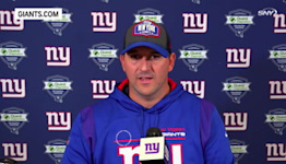 Joe Judge on Giants training camp brawl   Giants News Conference