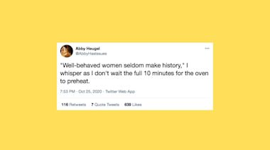 The 20 Funniest Tweets From Women This Week (Oct. 24-30)
