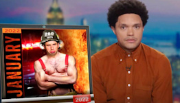 Trevor Noah Baffled By 'Brave' Cops And Firefighters' Refusal To Get COVID-19 Vaccine