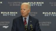 Biden says QAnon believers should seek mental health care under the Affordable Care Act