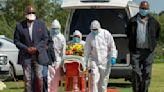 The Latest: South Africa nearing 10,000 coronavirus deaths