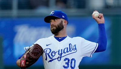 Danny Duffy's milestone strikeout comes in a Royals loss to the Rays