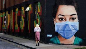 Coronavirus street art from around the world