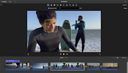 iMovie for macOS Monterey can edit iPhone 13 Cinematic Mode videos