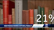 New Mexico ranks 49th in literacy in the nation