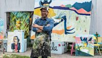 Artist Cruz Ortiz is leaving San Antonio