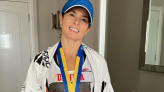 Danica Patrick Celebrates Completing Her First Boston Marathon: 'I Do Not Want to Do Another!'
