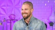 'Heels' Star Stephen Amell Talks Injuring Himself on the First Day of Wrestling