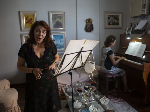 AP PHOTOS: Rio de Janeiro artists languish in online exile