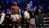 Anthony Joshua's reaction to defeat compared unfavourably to Deontay Wilder