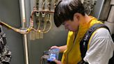 崑大機械碩士生劉庭瑜充實研究所生活 協助企業節能診斷