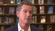 California Governor Gavin Newsom's message to Democrats in first interview since winning recall election