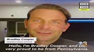 Actor Bradley Cooper Urging Pennsylvanians To Vote