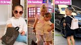 The celeb kids even more stylish than their mums - with £360 haircuts and backpacks 'more expensive than a car'