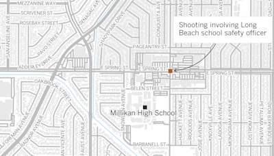 Woman critically wounded in shooting by Long Beach school safety officer