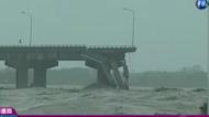 轟隆隆巨響! 台灣四大橋坍塌奪命