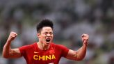 Olympics-Athletics-China's Su makes 100m final but Bromell goes out in semis