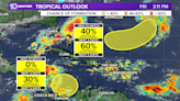 Tropical storms may develop next week in the Caribbean and Atlantic