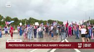 Protesters shut down Dale Mabry Highway