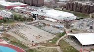 Construction Continues at Stony Brook Medical Facility For Non-Coronavirus Patients