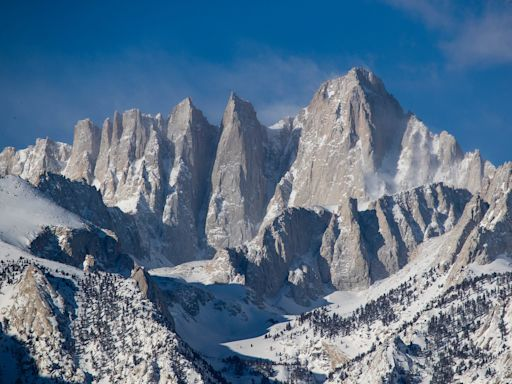 A woman died after falling 100 feet on Mount Whitney and spending 2 days alone in freezing temperatures