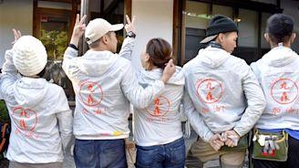 日本東北風災待援 12名台灣人自費助災民復原