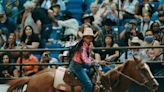 11-year-old cowgirl Kortnee Solomon competes at the first televised Black rodeo
