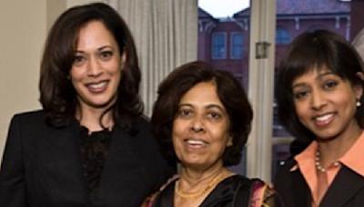 Kamala Harris's Mother, Shyamala Gopalan Harris, Taught Her Daughters Resilience