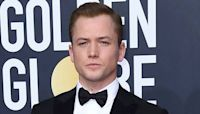 Taron Egerton Takes Home His First Golden Globes Trophy