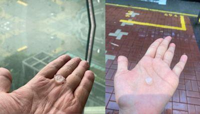 香港落雹皆凶兆 九月雹預示股災來臨?(圖) - 李懷橘 - 社會民生
