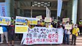 控未全額給付加班費 佳格工會聚集桃市府前要求勞檢處開罰