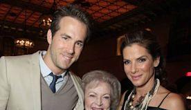 See Ryan Reynolds, Sandra Bullock's Adorable Betty White Tribute