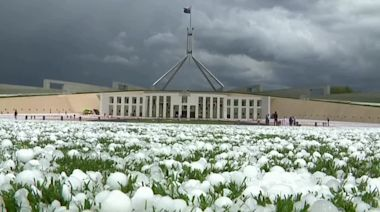 Australia's capital hit by destructive hailstorm