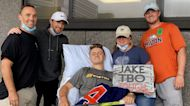 Fundraiser held in Boston for Fitchburg teenager who was seriously injured in hockey game